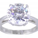 SOLITAIRE CUBIC ZIRCONIA CZ RING SIZE 5 9 or 10