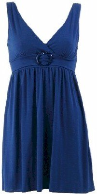 Electric Blue Long Sleeveless Top Small