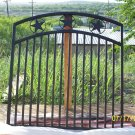 CUSTOM WROUGHT IRON GARDEN GATE *ORNAMENTAL IRON*