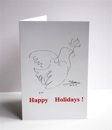 Peace Dove Note Card  (10 Pack)