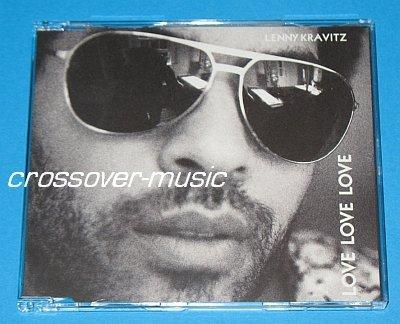 LENNY KRAVITZ Love Love Love 3-TRK CD - I'll Be Waiting