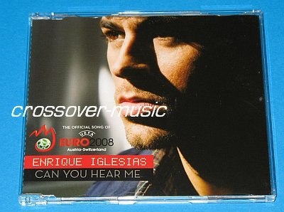 ENRIQUE IGLESIAS Can You Hear Me 4-TRK REMIX CD 2008