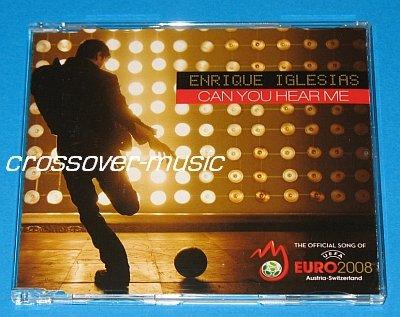 ENRIQUE IGLESIAS Can You Hear Me 4-TRK REMIX CD UEFA