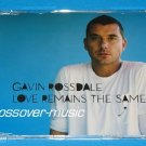 GAVIN ROSSDALE Love Remains The Same GER 4-TRK CD 2008