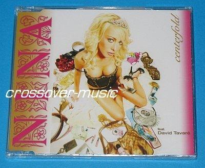NINA Ft. DAVID TAVARE Centerfold 4mx CD 2008 sealed