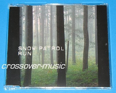 SNOW PATROL Run GER 4-TRK CD SINGLE 2003/2008 NEW