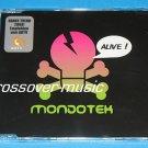 MONDOTEK Alive! GER 9-TR REMIX CD SINGLE 2008 TECKTONIC