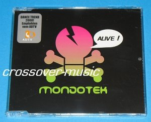 MONDOTEK Alive! GER 9-TR REMIX CD SINGLE 2008 TECKTONIC