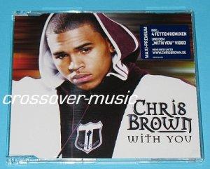 CHRIS BROWN With You GER 6-TRK REMIX CD 2008 ESPEN LIND