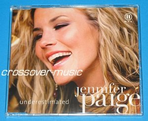JENNIFER PAIGE Underestimated GER 2-TRK CD SINGLE 2008
