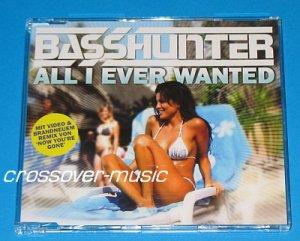 BASSHUNTER All I Ever Wanted (DotA) GER 5-TRK CD 2008