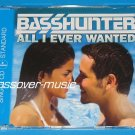 BASSHUNTER All I Ever Wanted (DotA) GER 2-TRK CD 2008