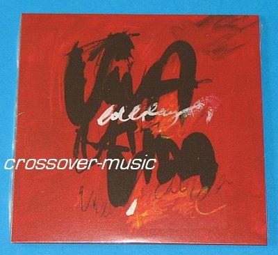 COLDPLAY Viva La Vida 2-TRACK CD SINGLE in cardsleeve