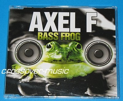BASS FROG Axel F RMX CD SINGLE 2005 HAROLD FALTERMEYER
