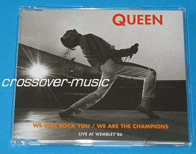 QUEEN We Will Rock You / Are The Champions 4-TR CD 2008