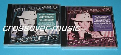 BRITNEY SPEARS Piece Of Me LTD GERMAN 2-CD SET w/poster