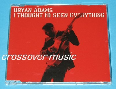 BRYAN ADAMS I Thought I'd Seen Everything 3TR CD SINGLE