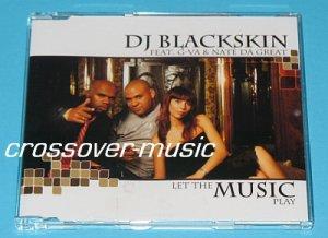 DJ BLACKSKIN Vs SHANNON Let The Music Play GER 3-MIX CD
