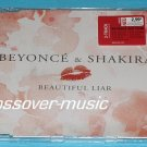 BEYONCE & SHAKIRA Beautiful Liar GERMAN 2-TRK CD sealed