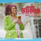 JOSS STONE Ft. COMMON Tell Me What We're Gonna 4-TRK CD