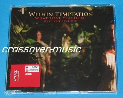 WITHIN TEMPTATION What Have You Done GER 2-TRACK CD