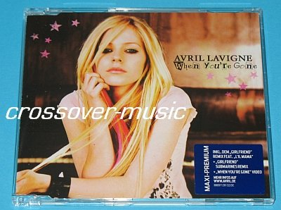 AVRIL LAVIGNE When You're Gone GER 4-TRK CD Girlfriend