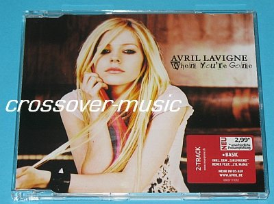 AVRIL LAVIGNE When You're Gone GER 2-TRK CD Girlfriend