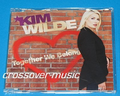 KIM WILDE Together We Belong GERMAN 4-TRACK CD 2007 NEW