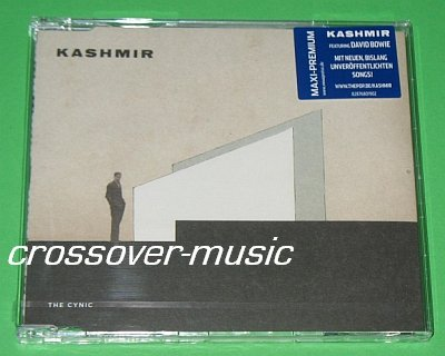 KASHMIR Ft. DAVID BOWIE The Cynic GER 4-TRK CD sealed