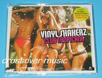 VINYLSHAKERZ Club Tropicana 6-TRK CD WHAM! GEORGE MICHAEL
