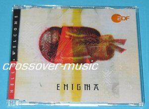 ENIGMA Hello + Welcome 2005 GER 4-TRK REMIX CD CRETU