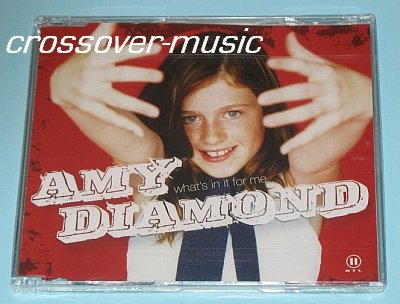 AMY DIAMOND What's In It For Me GER 5-TRK CD A*TEENS