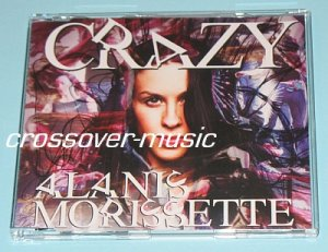 ALANIS MORISSETTE Crazy GER 3-TR RMX CD Joining You SEAL