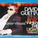 DAVID GUETTA Baby When The Light 7mx CD CATHY DENNIS