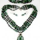 "African ""Jade"" Set"