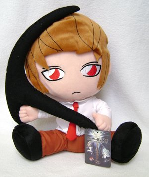 Death Note Light Yagami w/ Scythe Plush