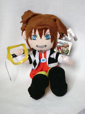 Kingdom Hearts Sora Plush