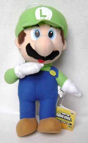 Super Mario Luigi Plush