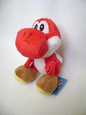 Super Mario Red Yoshi Plush