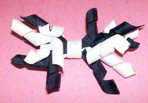 Korkie Korker Bow - Navy and White