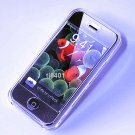 Iphone ipod Touch Hard Crystal Clear Case (Clear) + Belt Clip