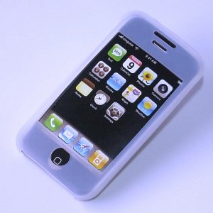 iPhone ipod Touch Silicone Protective Skin Case iTouch (White)