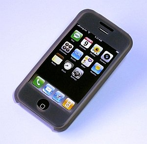iPhone ipod Touch Silicone Protective Skin Case Itouch(Grey Black)