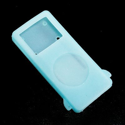 iPod Nano Glow-in-the-Dark Silicone Cases - Blue
