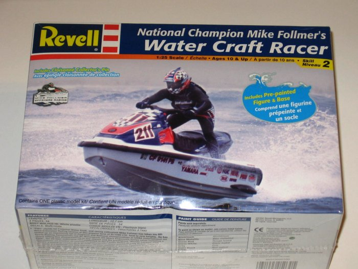 REVELL 1:25 Water Craft Racer Champion Mike Follmer NEW