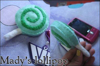 Lollipop cell strap