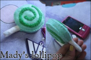 Lollipop cell strap