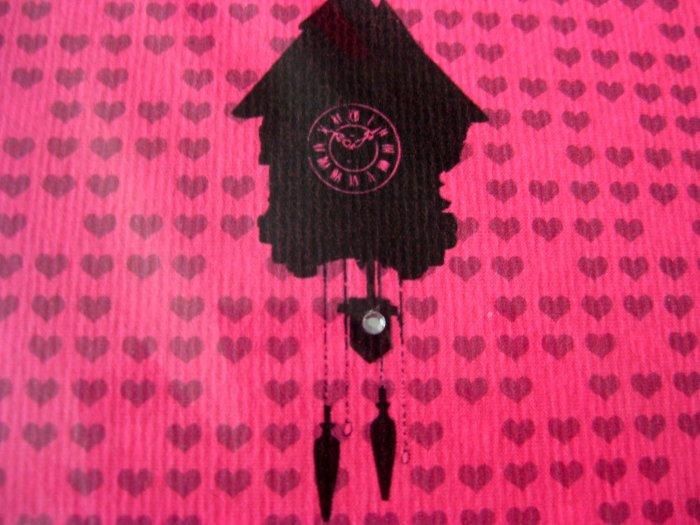Handmade Card - Pink Cuckoo - Happy Birthday