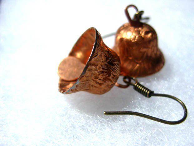 Handmade Vintage Bell Earrings