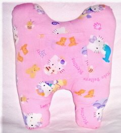 """Pink Hello Kitty"" Tooth Pillow"